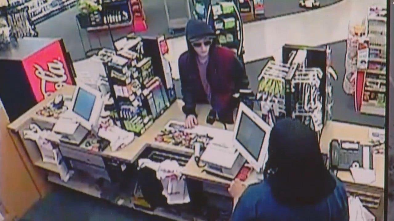 WEB EXTRA: Tulsa CVS Robbery Video