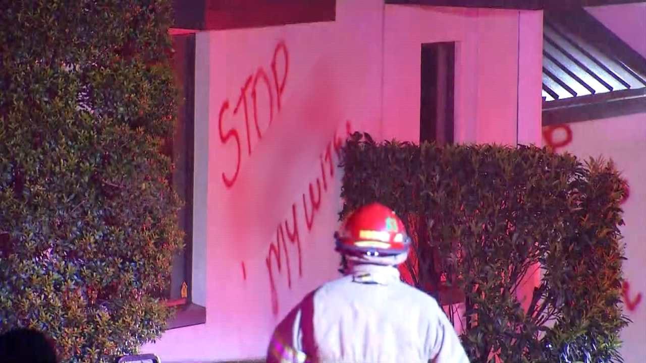 Dave Davis: Fire, Vandalism At Tulsa Peace Chiropractic