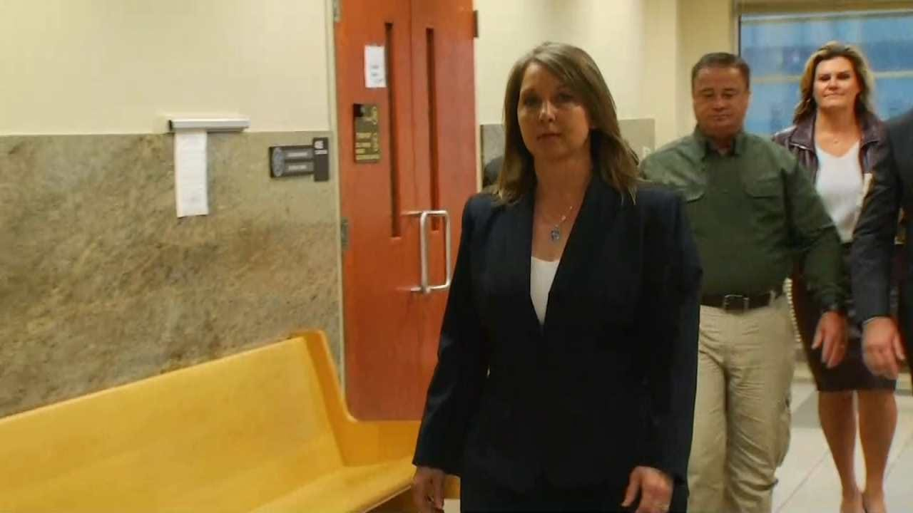 Officer Betty Shelby Back In Court Ahead Of Her Tulsa Trial