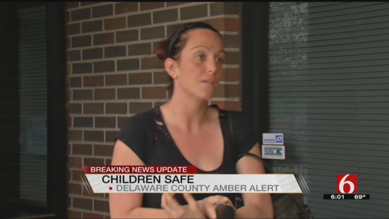 Delaware County Amber Alert Canceled, Children Found Safe
