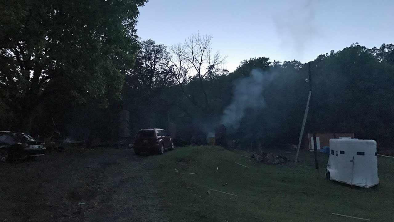 Two Bodies Found In Fatal Muskogee County Fire