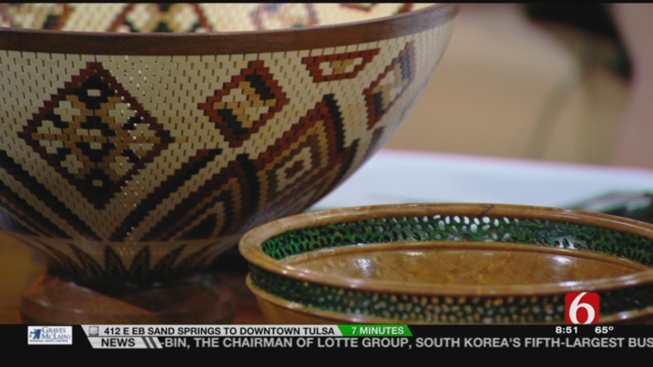 Tulsa Woodturning Show Benefits Food Bank