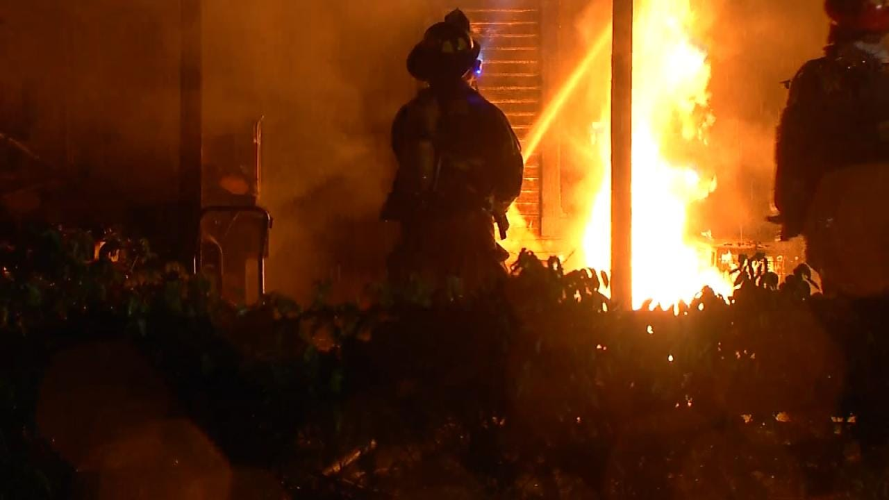 Sapulpa Family Loses Everything To Possible Lightning Fire
