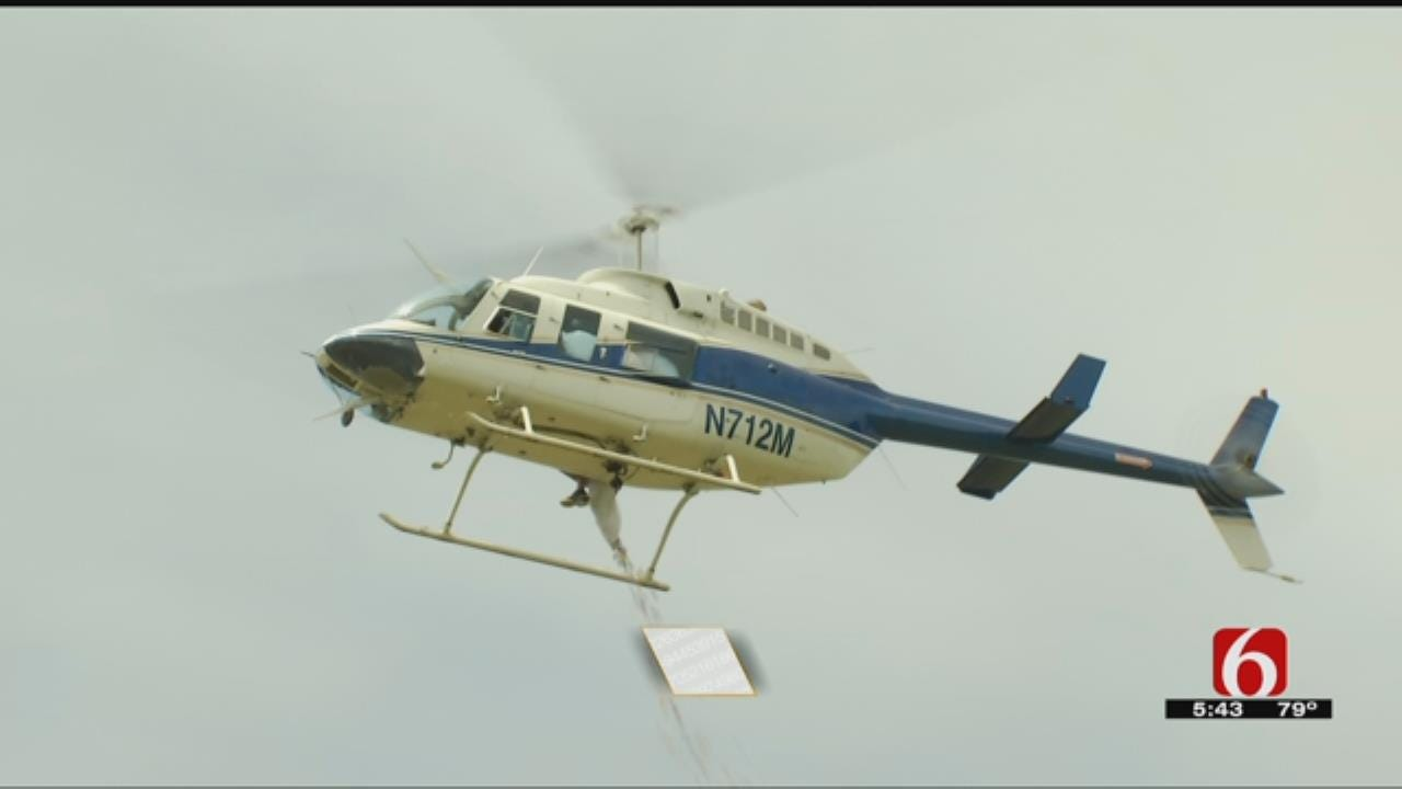 Sand Springs Church Hosts Easter 'Egg Drop Service'