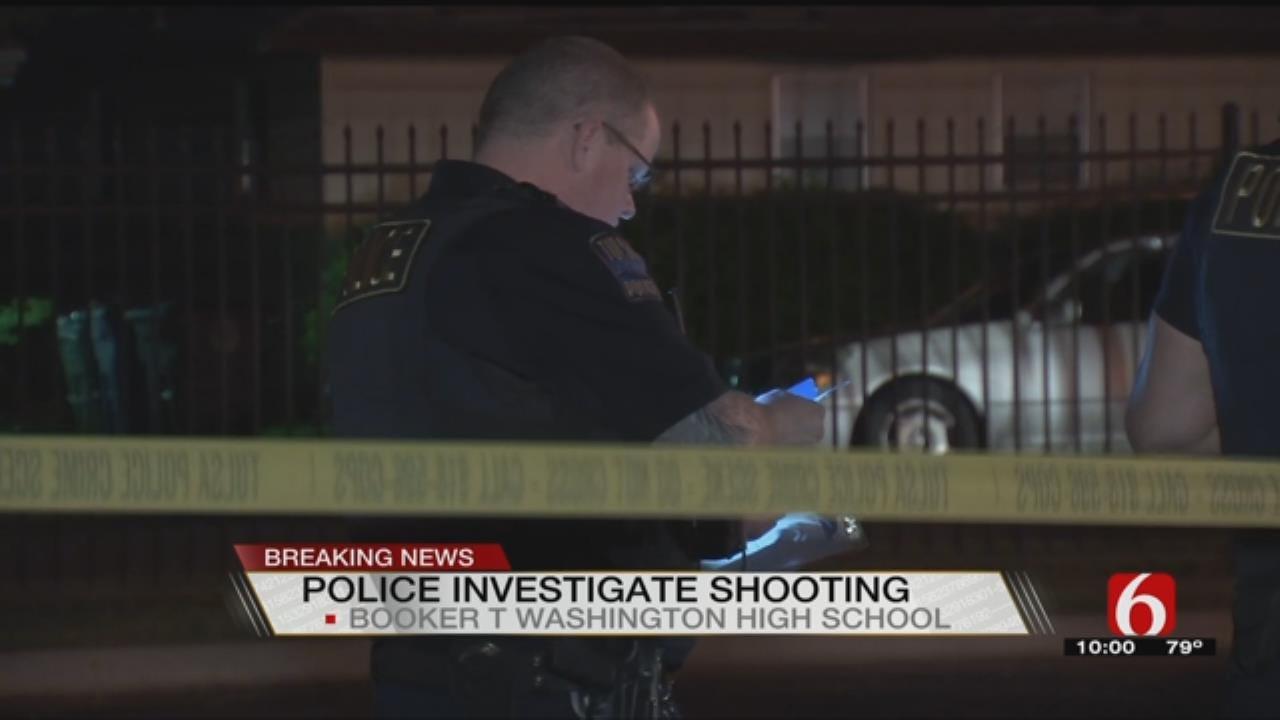 Tulsa Police Investigating Shooting At Booker T. Washington H.S.
