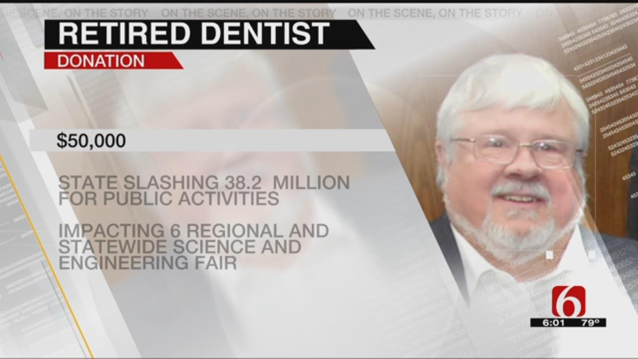 Dentist's Donation Prevents Elimination Of Oklahoma Science Fair