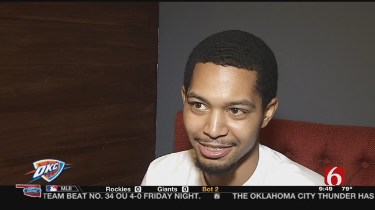 Tulsa Man Talks Hitting $20,000 Half-Court Shot At Thunder Game