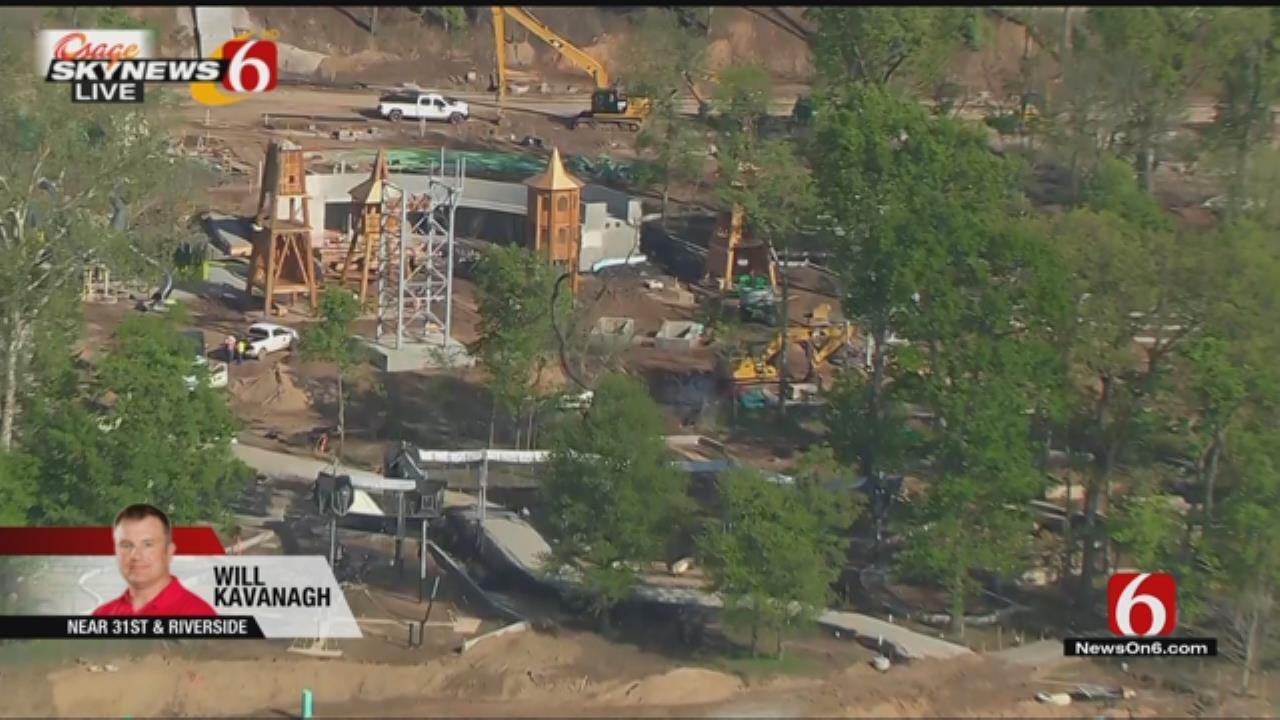 Osage SkyNews 6 HD: Tulsa's Gathering Place Update