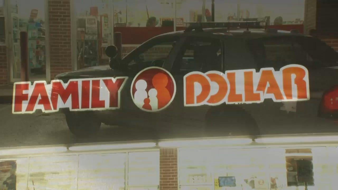 WEB EXTRA: Video From Scene Of Tulsa Family Dollar Store Robbery