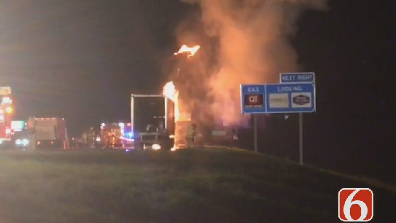 Joseph Holloway Updates Highway 75 Semi Fire