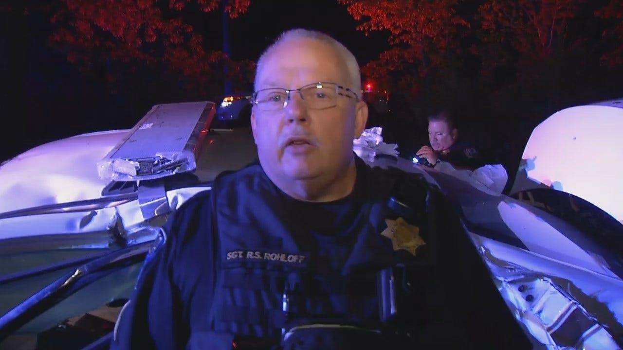 WEB EXTRA: Tulsa Police Sgt. Robert Rohloff Says Wrecks Involving DUI Drivers Impacting TPD's Fleet