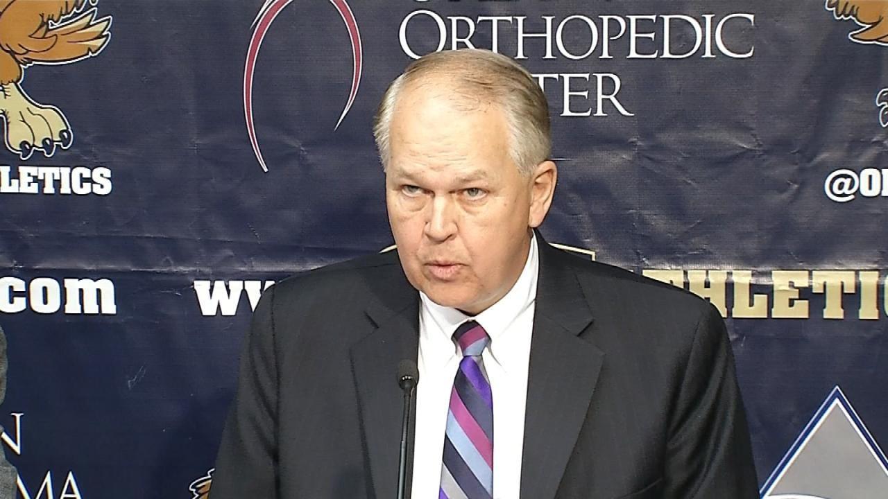 ORU Holds Presser To Address Firing Of Scott Sutton