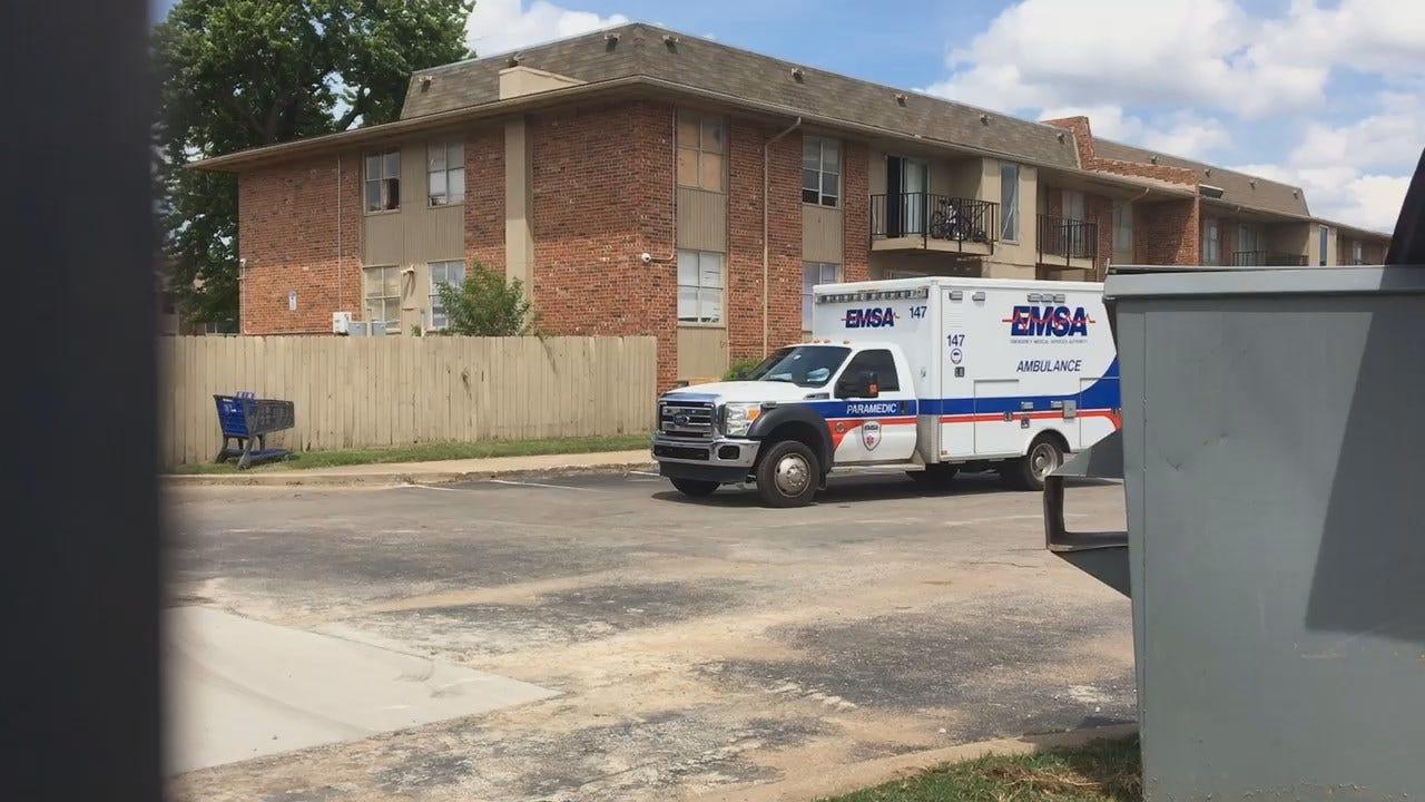 WEB EXTRA: Man Stabbed At Tulsa Apartment Complex
