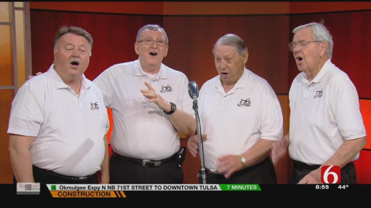 Barbershop Quartet, The Tulsa Tones Sings On 6 In The Morning