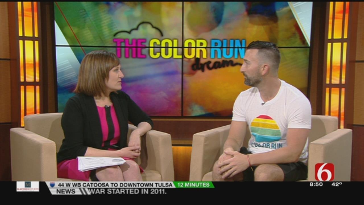 Time Again For Tulsa's Annual Color Run