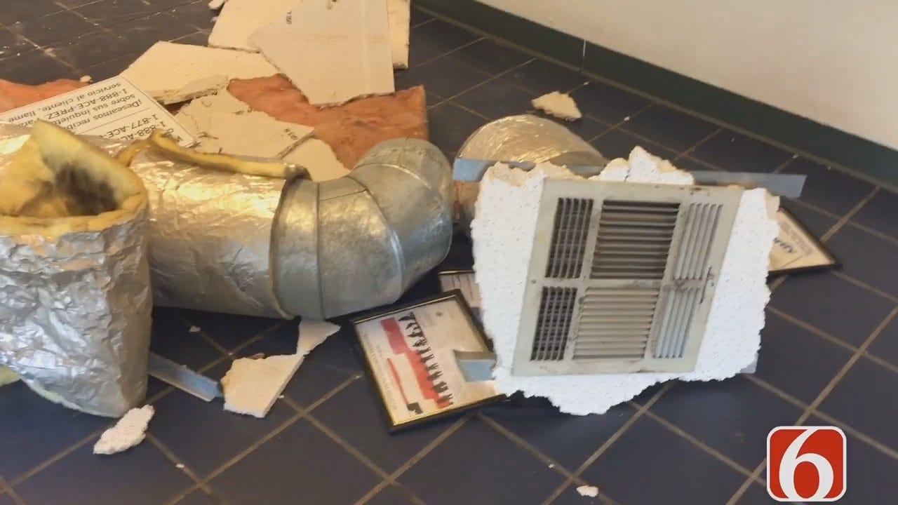 Amy Slanchik: Armed Robber Leaves Damage In Tulsa Business