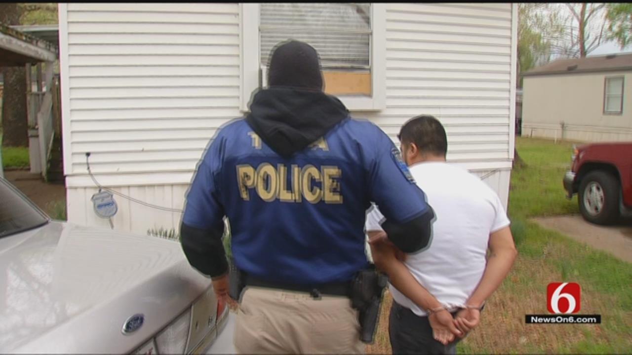 Tulsa Law Enforcement, Homeland Security Agents Make Heroin Bust