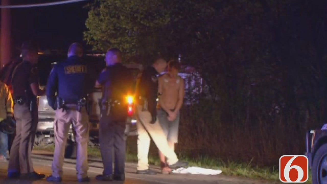 Dave Davis Reports On Woman Killed In Sperry Highway Crash