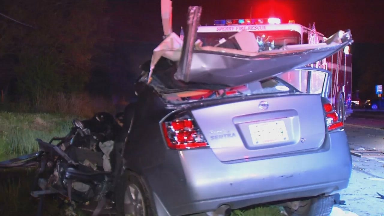 WEB EXTRA: Video From Scene Of Fatal Sperry Highway Crash