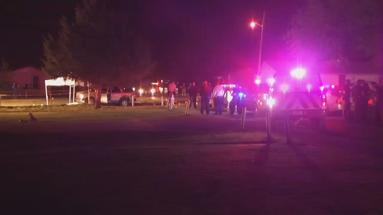 WEB EXTRA: Video From Scene Of Fatal Okmulgee Shooting