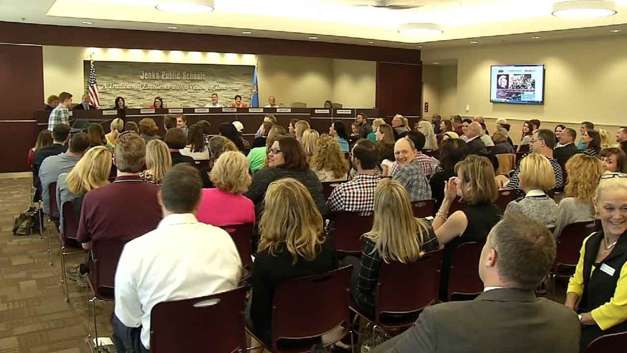 Jenks School Board Discusses Proposal To Change Start Times