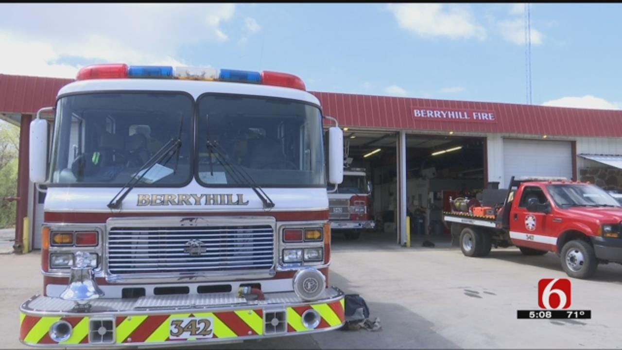 Hardworking Fire Department Brings Lower Insurance Rates To Berryhill