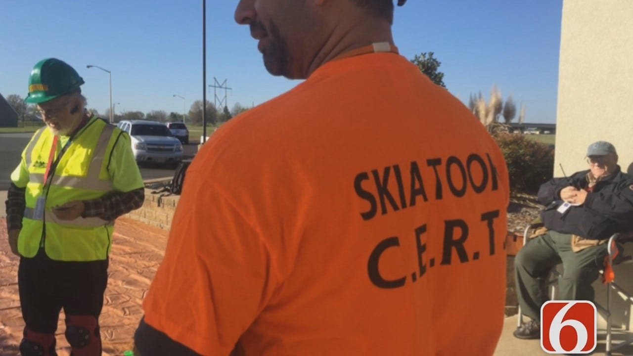 Amy Slanchik Reports On CERT Volunteers Train For A Real Disaster