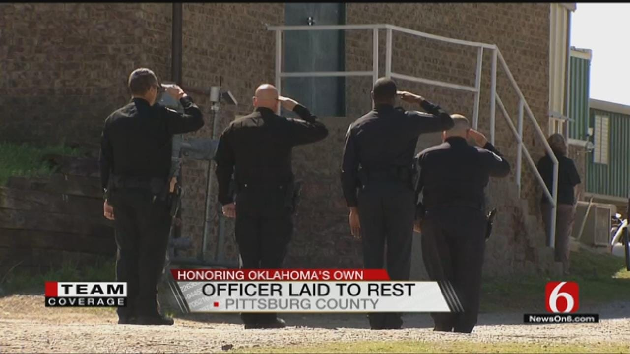 Police From Across The Country Honor Late Tecumseh Officer