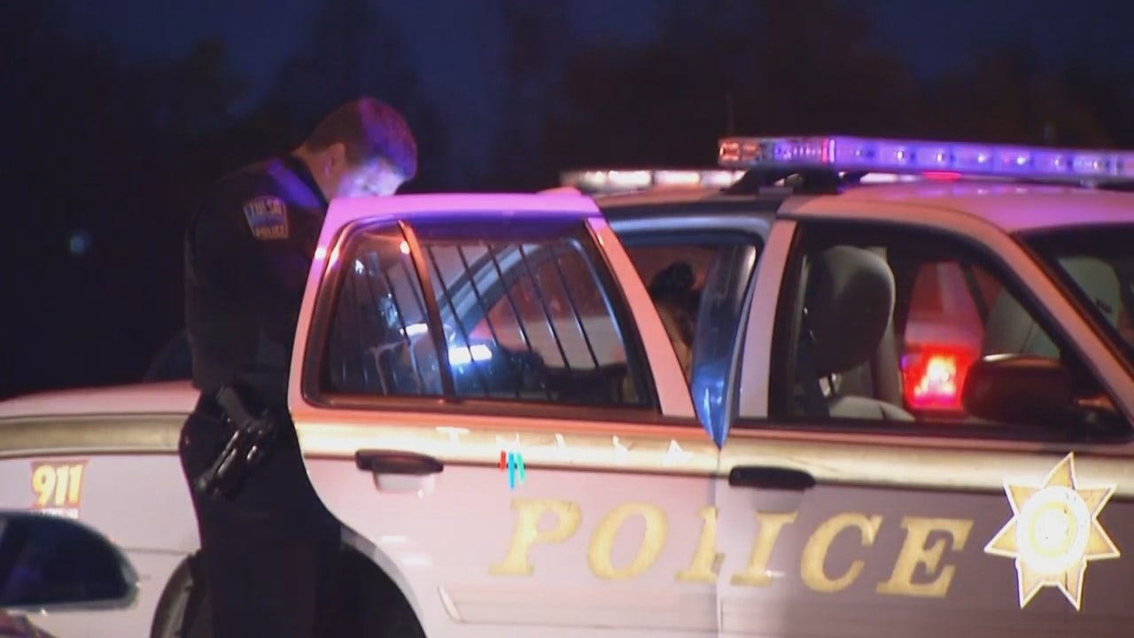 WEB EXTRA: Video From End Of Tulsa Police High Speed Chase