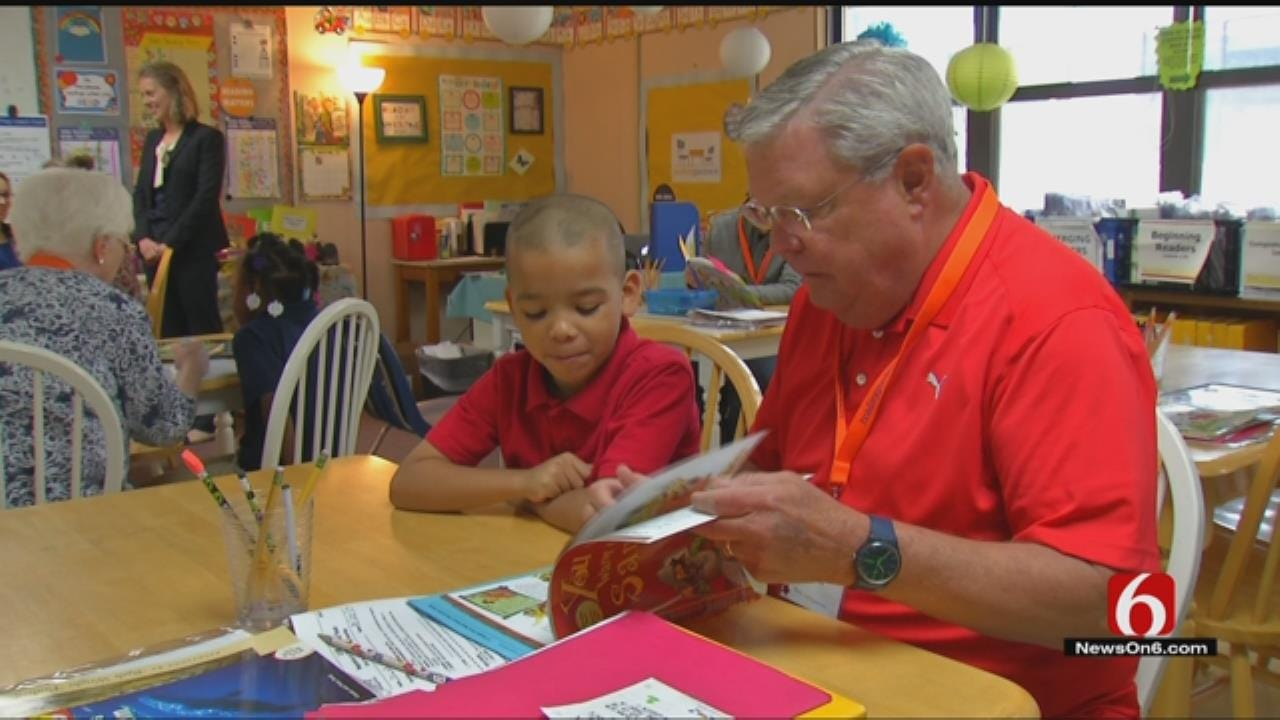 Volunteers Worry Federal Budget Cuts Would Damage Tulsa Reading Partners