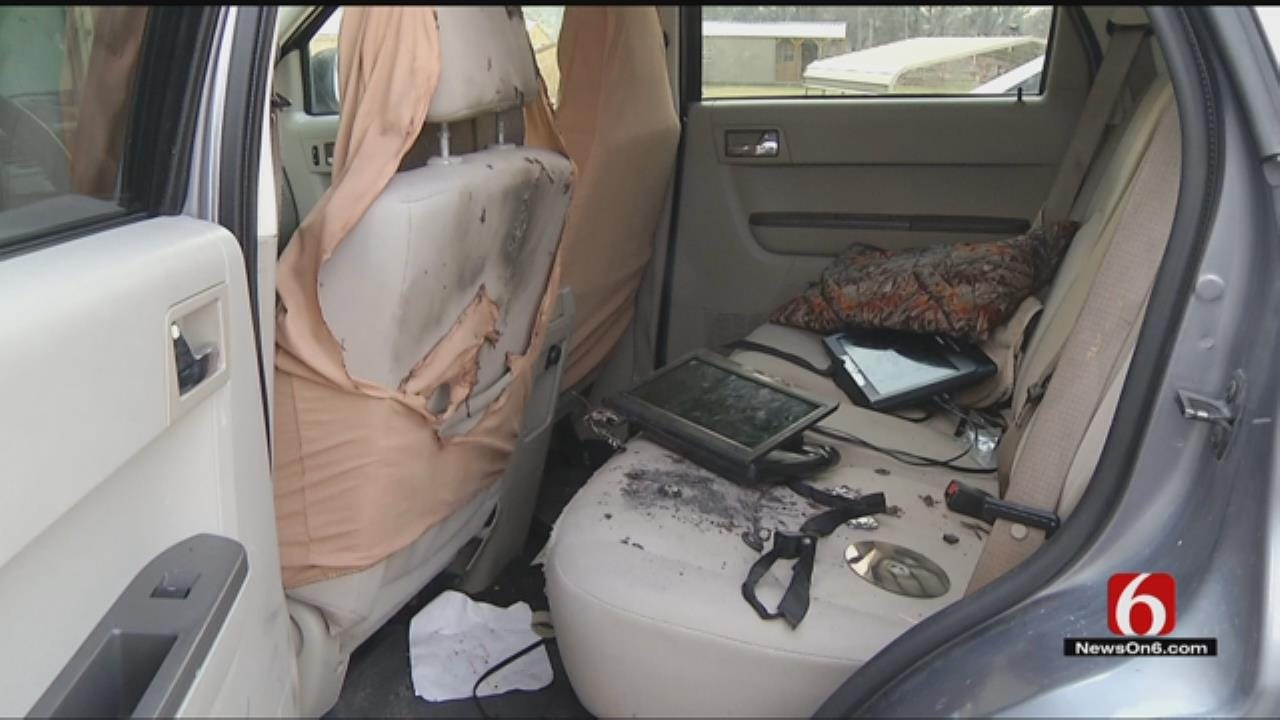 Portable DVD Player Explodes Inches From OK 3-Year-Old