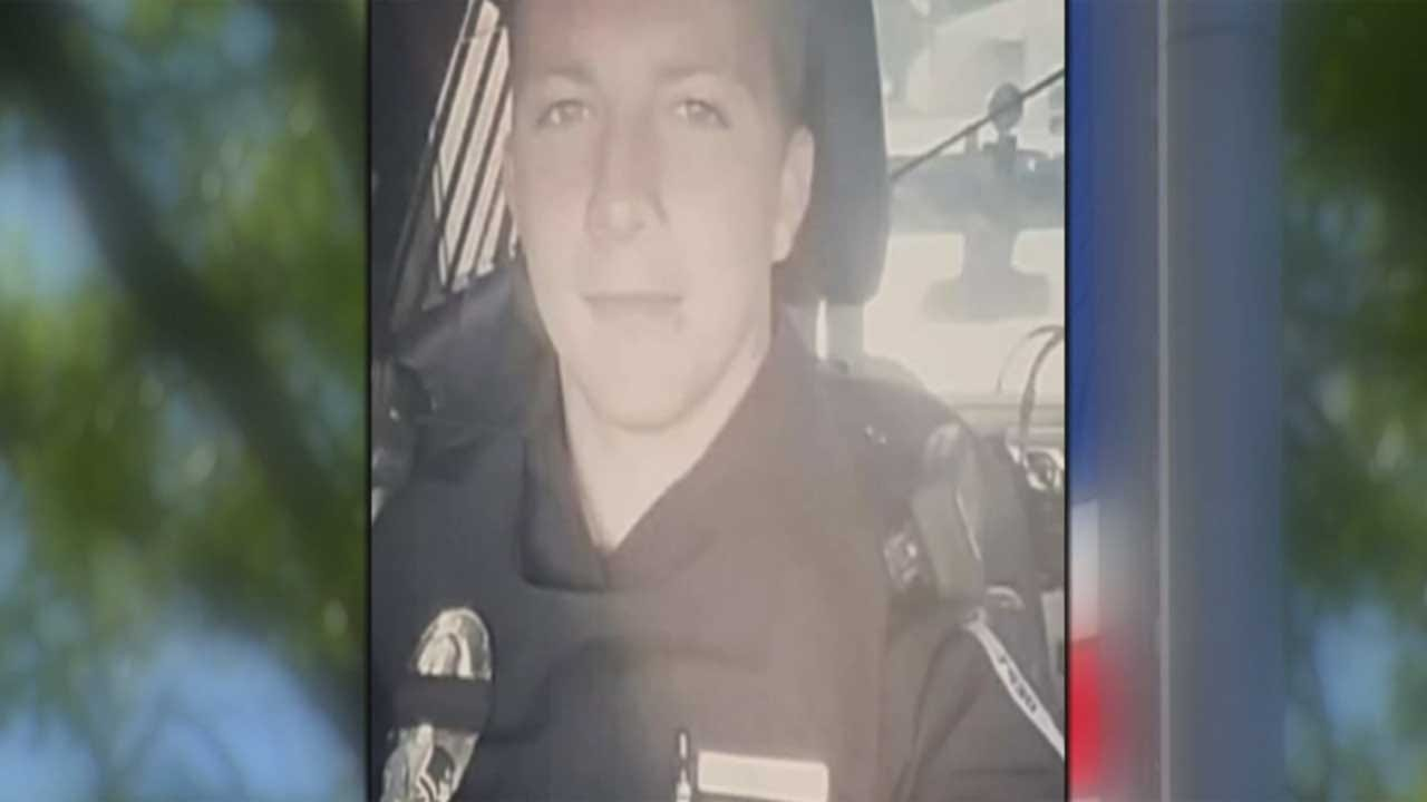 Community Honors Life Of Tecumseh Officer Killed In Line Of Duty
