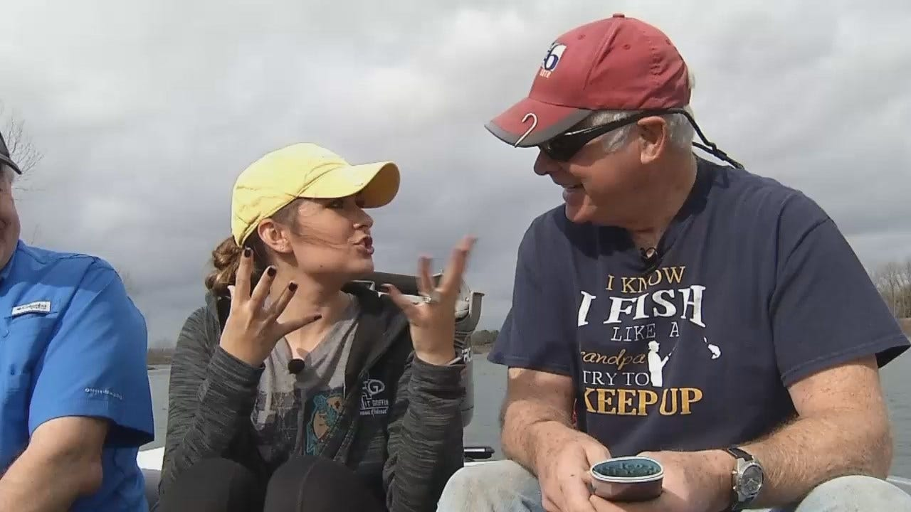 WEB EXTRA: Dick Faurot Introduces Lacey Swope While Fishing