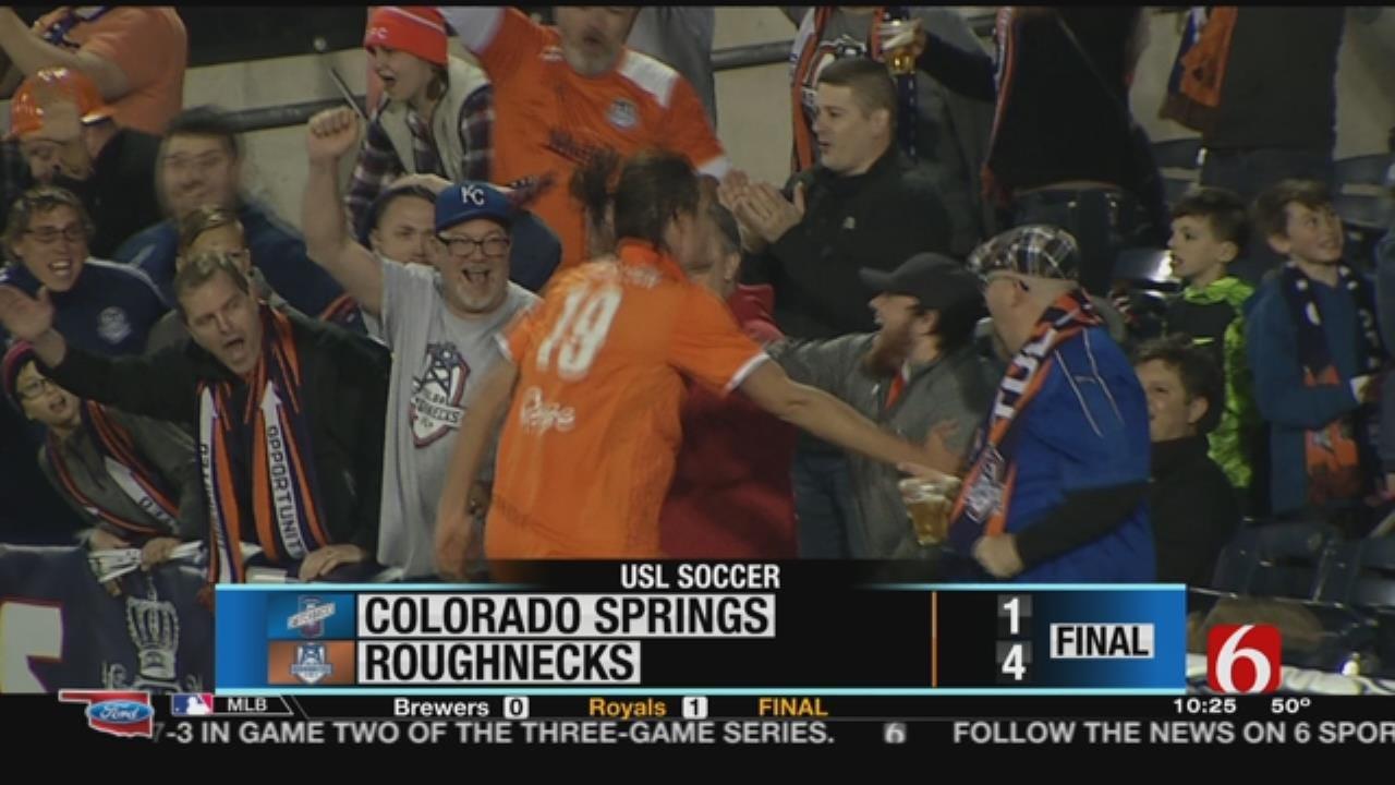 Tulsa Roughnecks Win Season Opener Over Colorado Springs