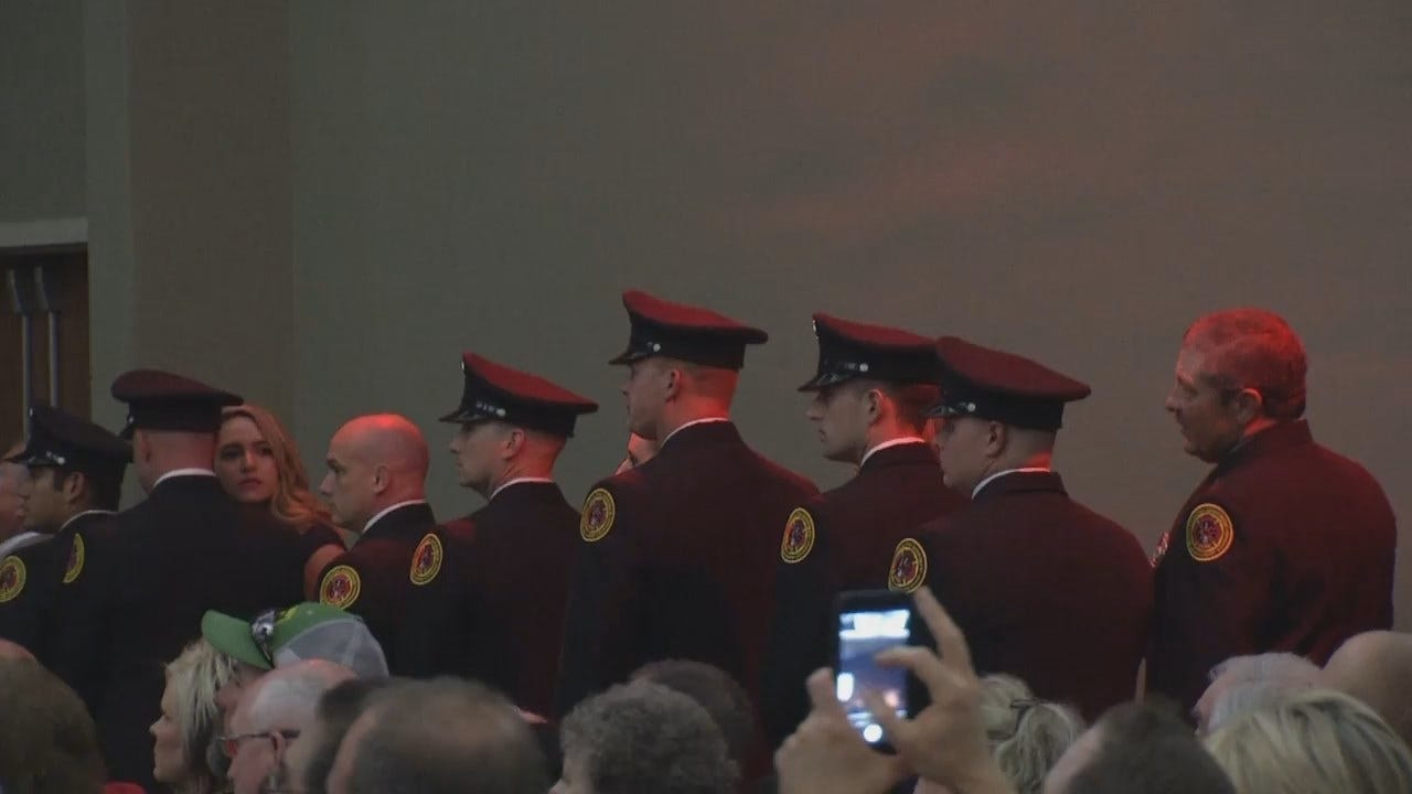 WEB EXTRA: Video From TFD Graduation Ceremony