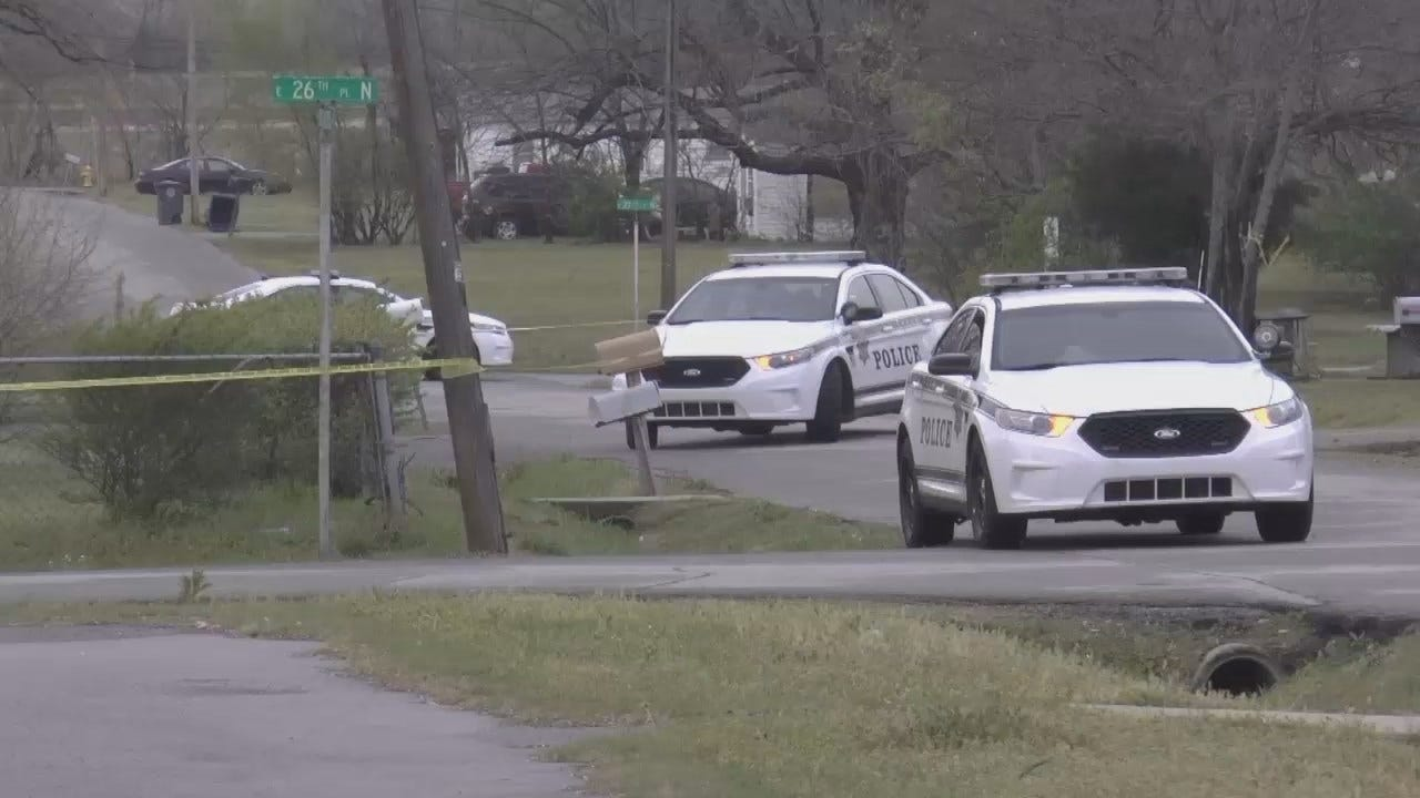 WEB EXTRA: Video From Scene Of Tulsa Homicide