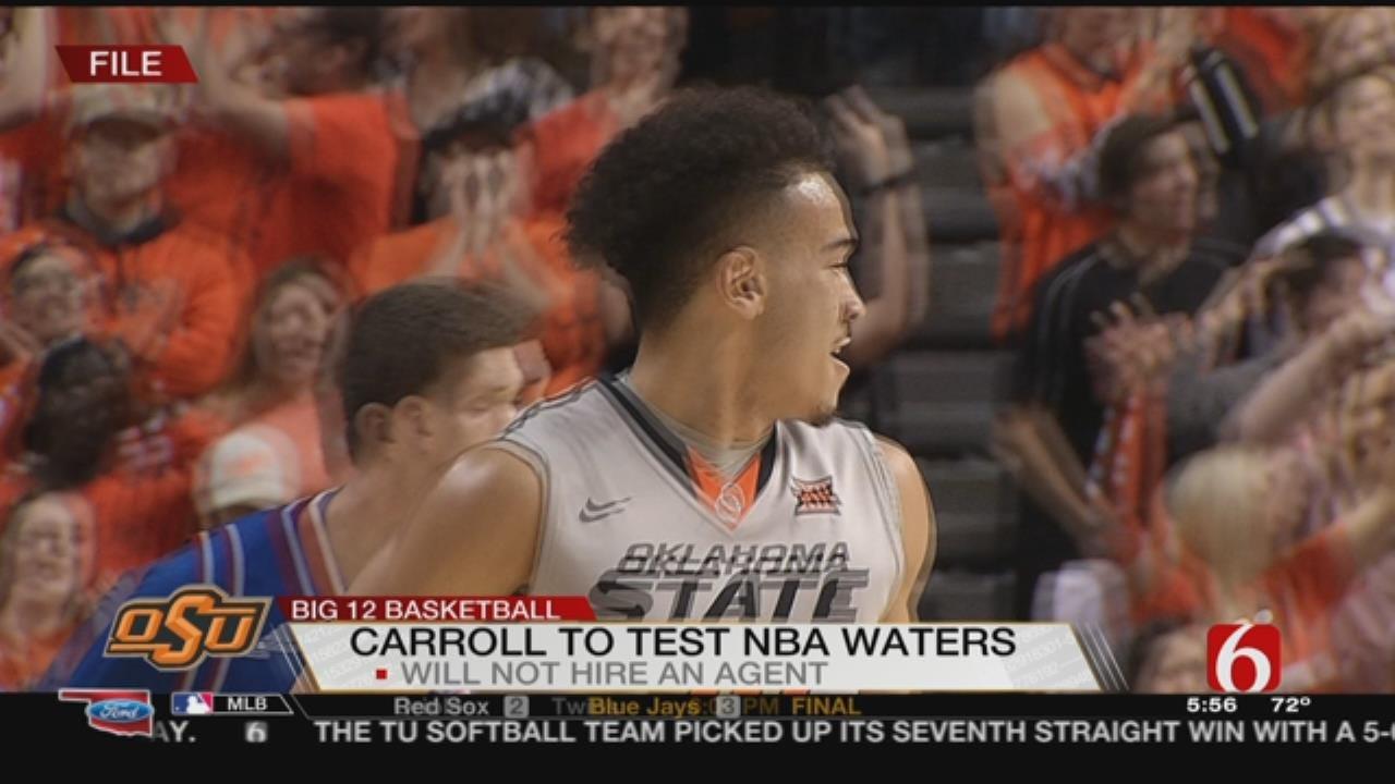 OSU's Carroll Opts To Test NBA Waters