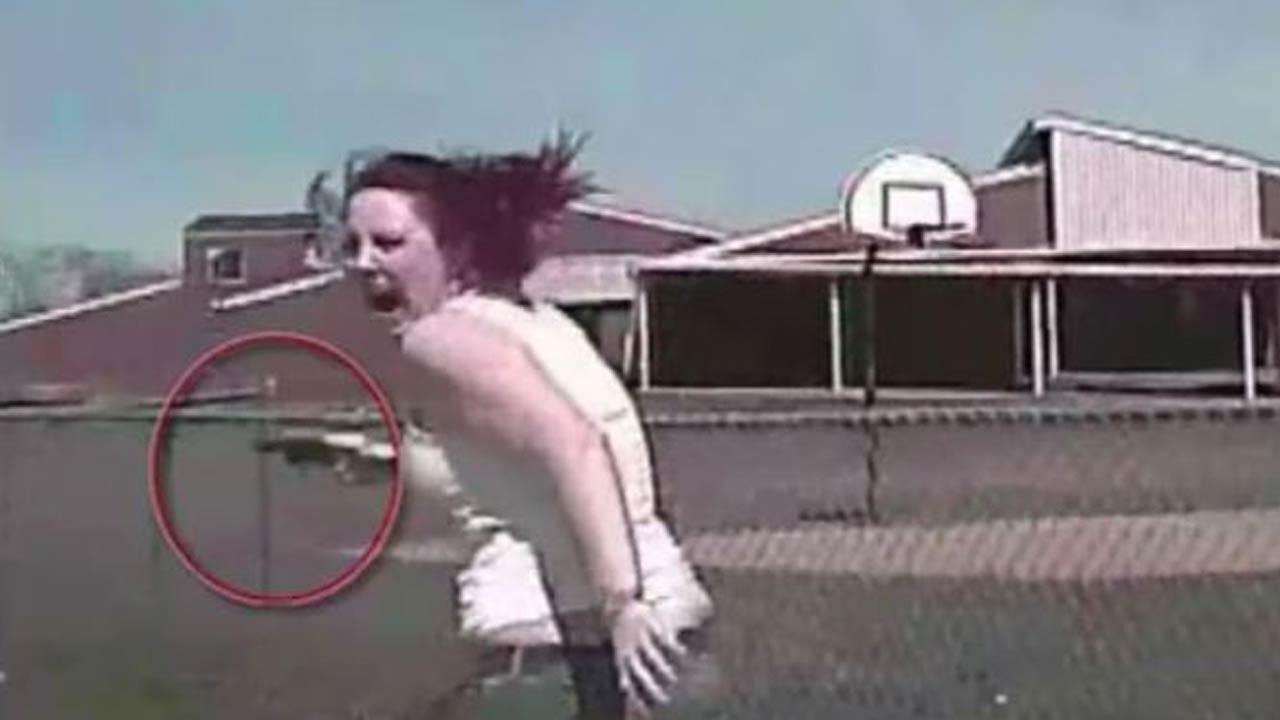 GRAPHIC: Police Dashcam Of Pursuit Of Madison Dickson