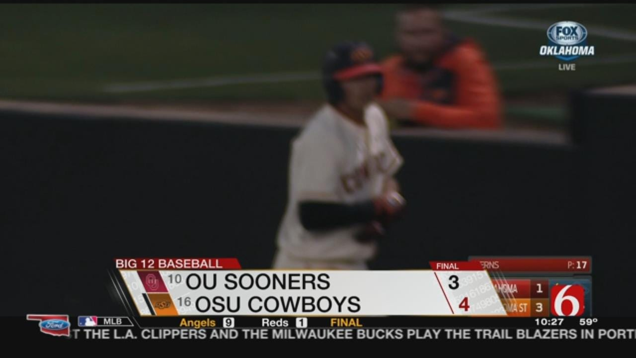Cowboys Beat Sooners In Bedlam Round 1