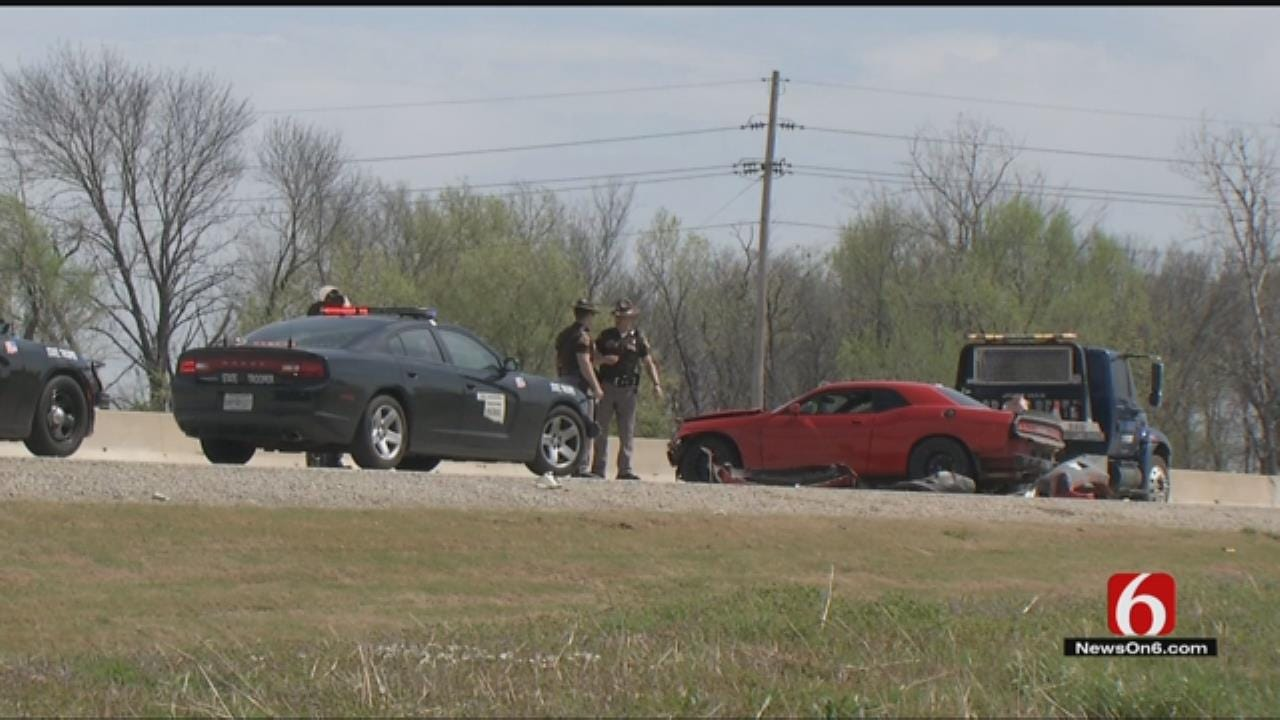 Pursuit Ends In Crash On Muskogee Turnpike