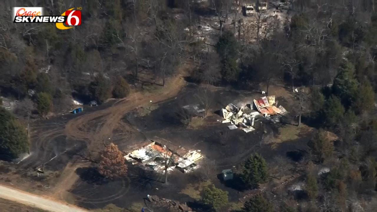 Erin Conrad: Fire Chief Says Arson To Blame For Pittsburg County Wildfire