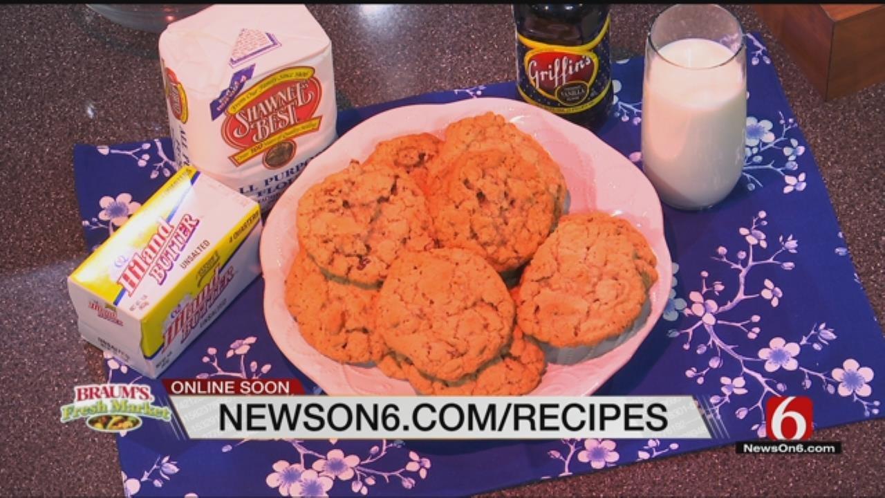Made In Oklahoma Oatmeal Cookies