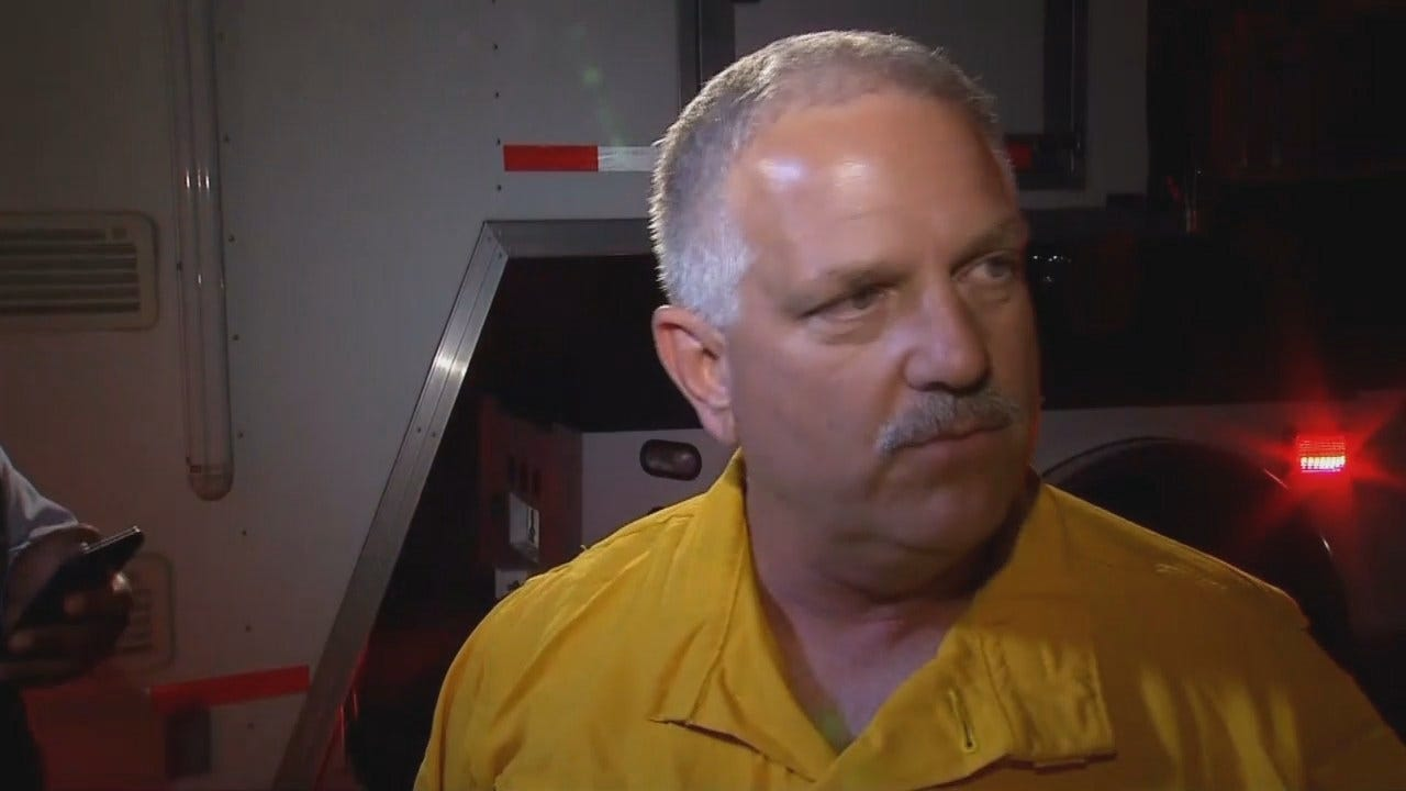 WEB EXTRA: McAlester Fire Chief Brett Brewer Talks About Longtown Fire