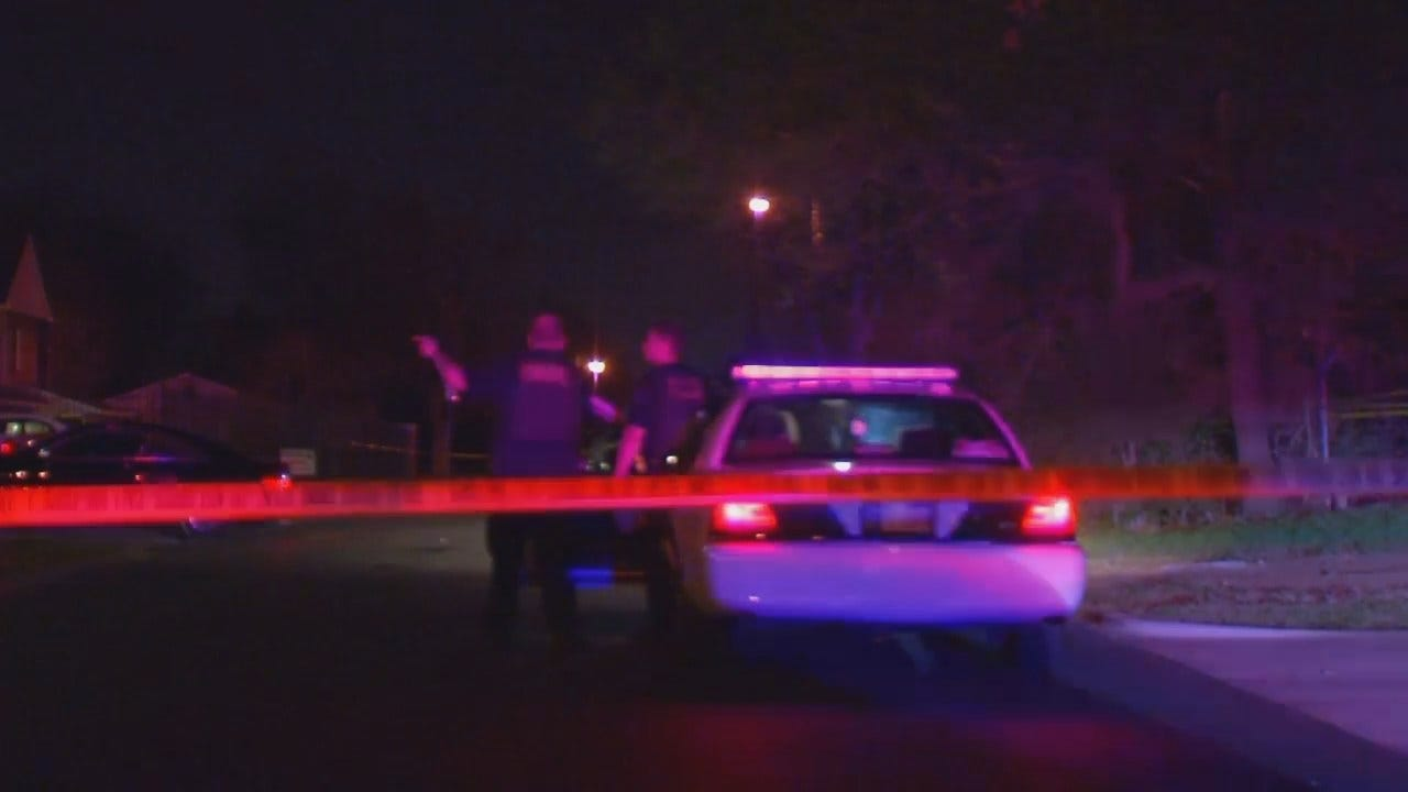 WEB EXTRA: Video From Scene Of Tulsa Fatal Shooting