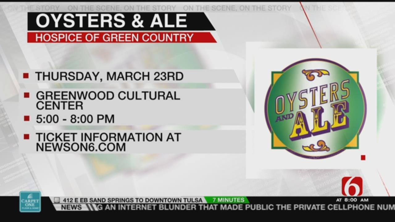 Hospice Of Green Country Hosts 6th Annual 'Oysters & Ale'