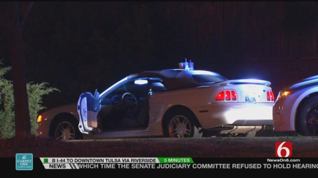 1 Arrested After Tulsa Police Spot Stolen Car