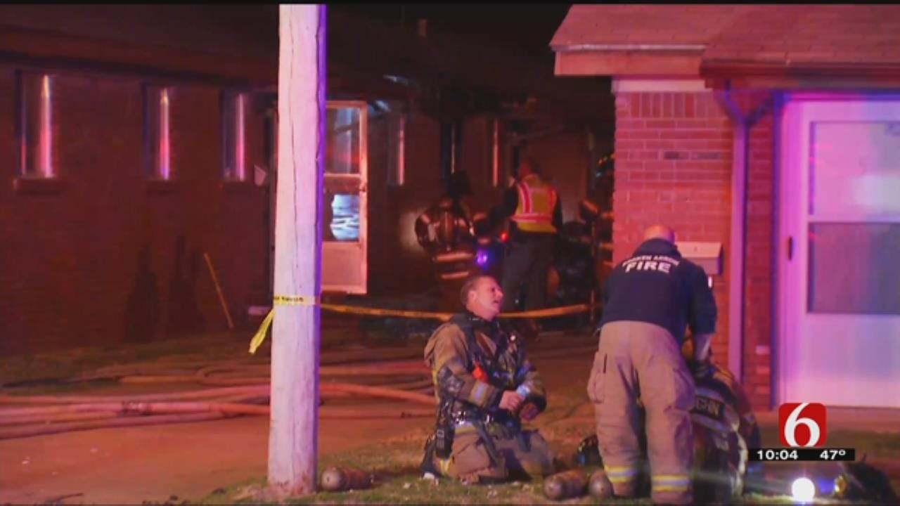 One Person Taken To Hospital After Broken Arrow Apartment Fire