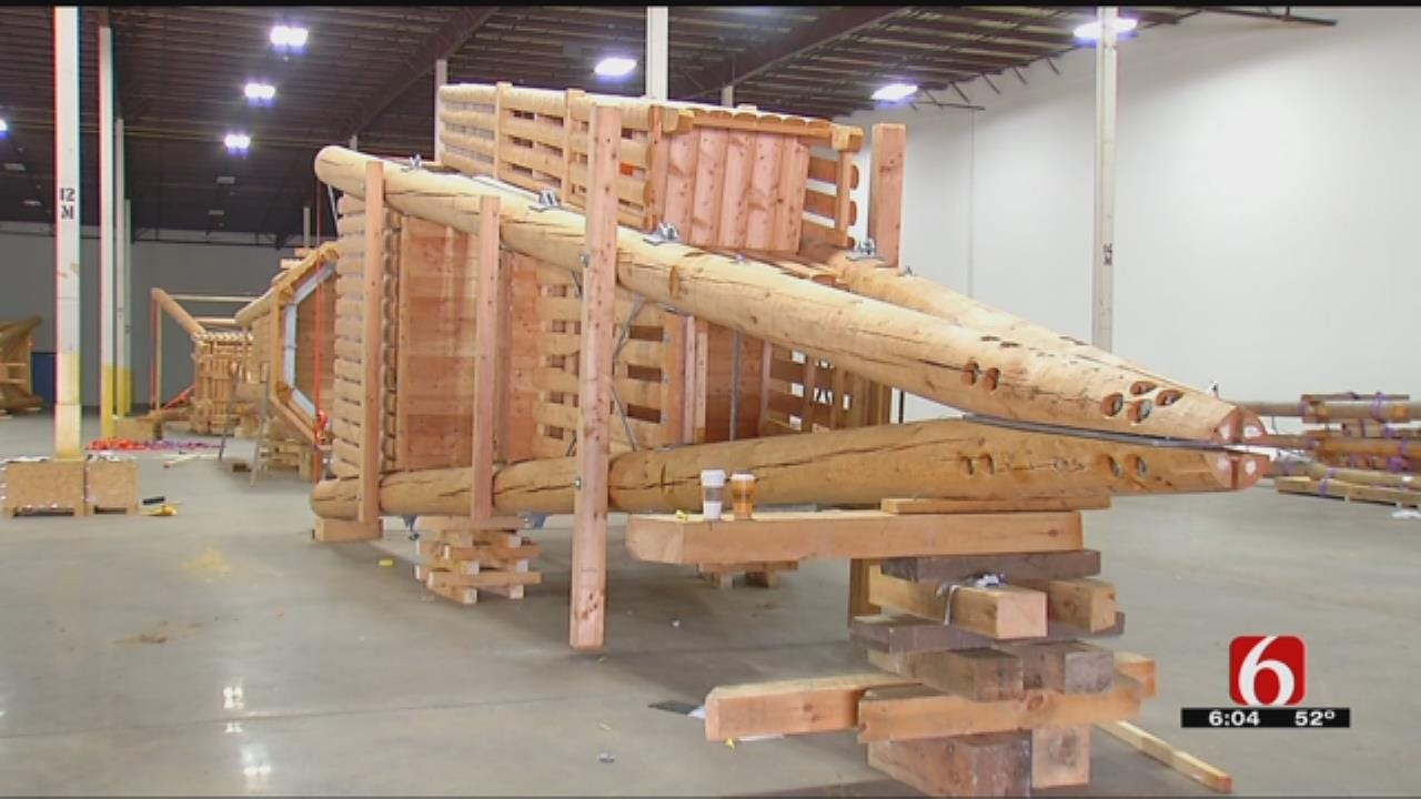Play Towers Are Ready For Delivery To Tulsa's 'A Gathering Place'