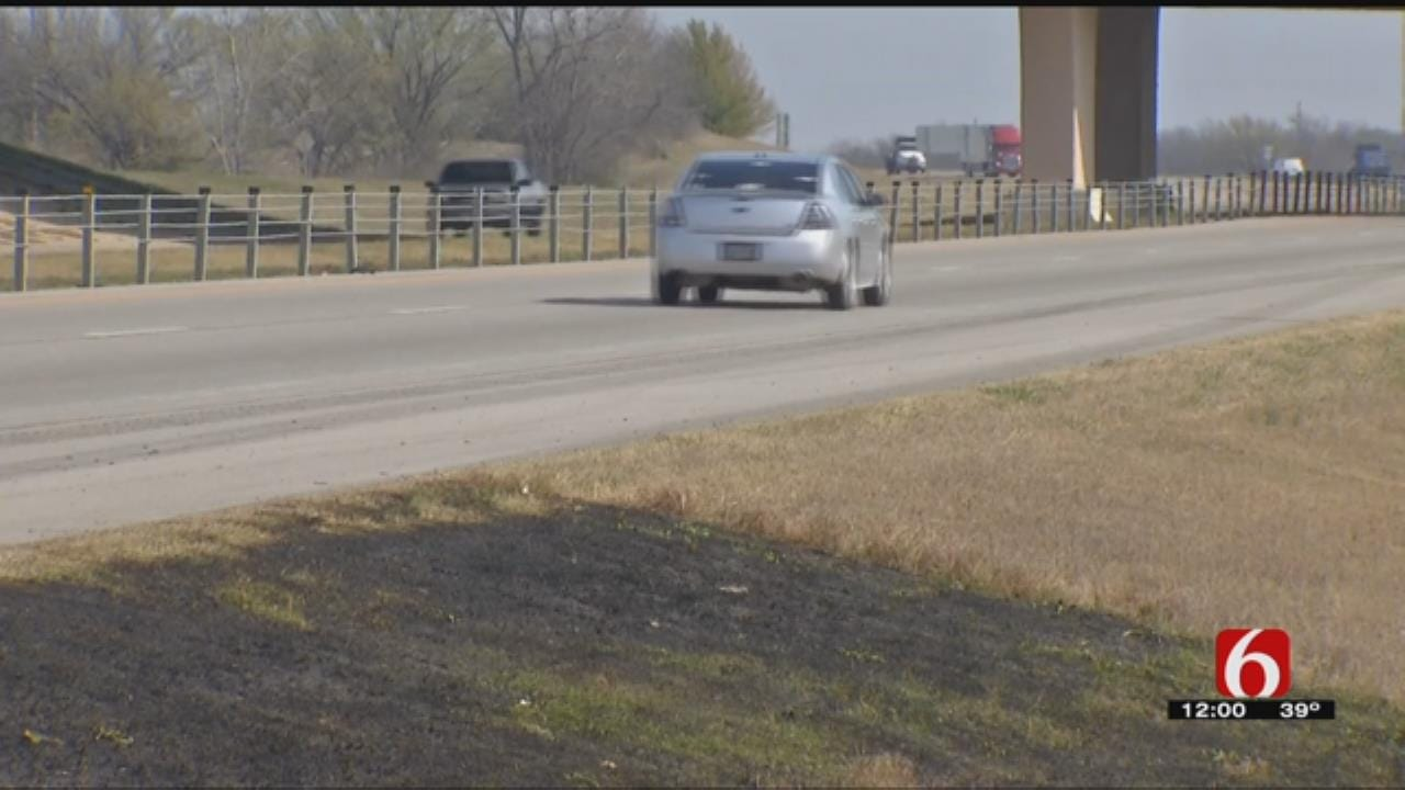 Numerous Small Grass Fires Along Tulsa County Highway Investigated
