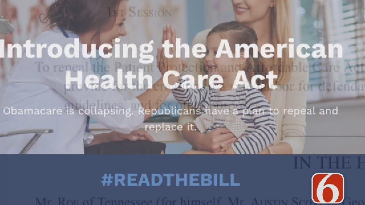 Dave Davis Reports Health Care Bill Could Cost Oklahoma Millions